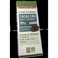 Chocolate crudo 70%