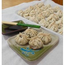 Dumplings veganos