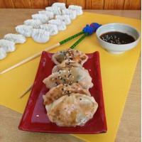 Dumplings de camaron