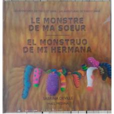 Libro de cuentos: El monstruo de mi hermana
